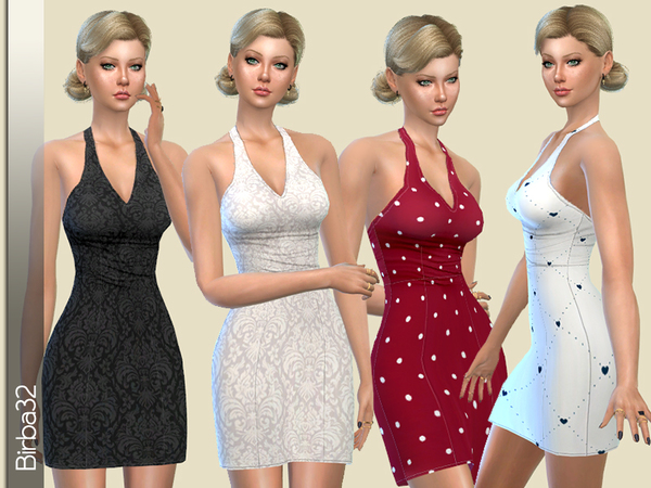 Damasco Dress by Birba32 at TSR image 6110 Sims 4 Updates