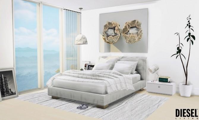 Sims 4 Diesel Bedroom at MXIMS