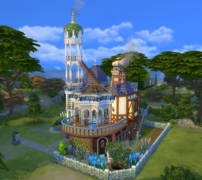The Stargazer's House By Velouriah At Mod The Sims » Sims