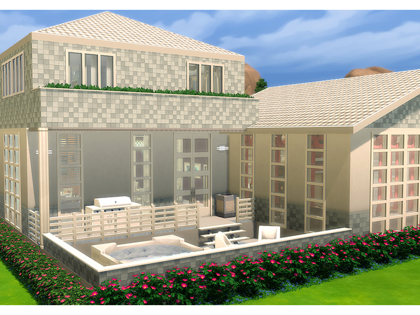 Angelica house by Degera at TSR image 6210 Sims 4 Updates