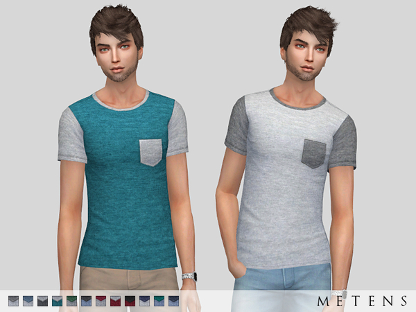Sims 4 Fransisco T shirt by Metens at TSR