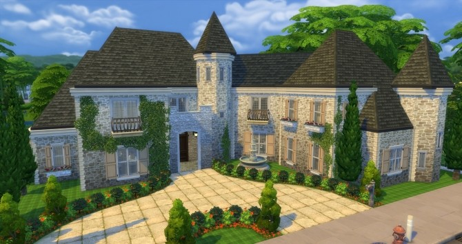 Luxury Mansion by gizky at Mod The Sims 187 Sims 4 Updates : 6412 670x355 from sims4updates.net size 670 x 355 jpeg 78kB