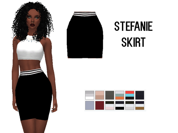 Stefanie Collection by Rebellesims at TSR image 6716 Sims 4 Updates