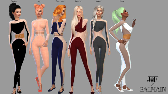 Sims 4 Jumpsuit at JFC Sims