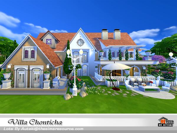 Sims 4 Villa Chonticha by autaki at TSR