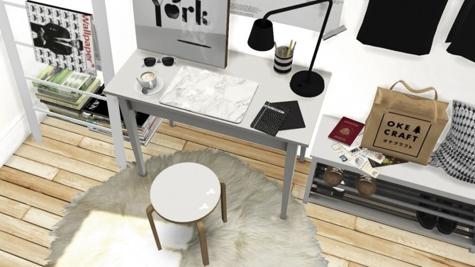 Office Set, Tjusig Hallway and Shoes Deco at MXIMS image 6913 670x377 Sims 4 Updates