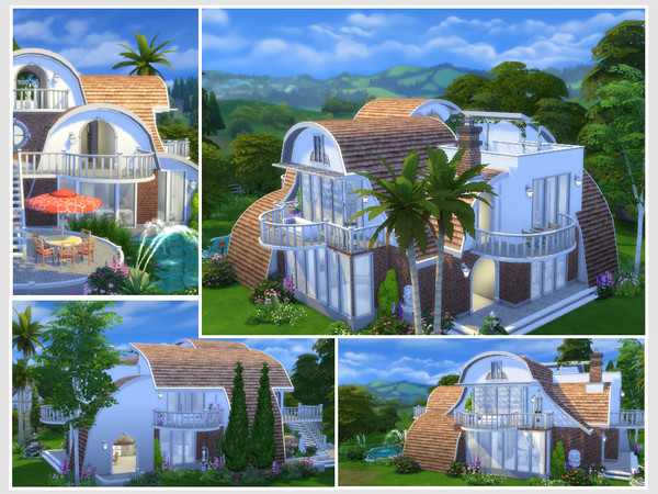 Strawberry house No CC by philo at TSR image 694 Sims 4 Updates