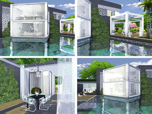 Sims 4 Minna house by Rirann at TSR