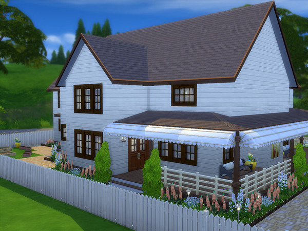 The Wilmington house by sharon337 at TSR image 7110 Sims 4 Updates