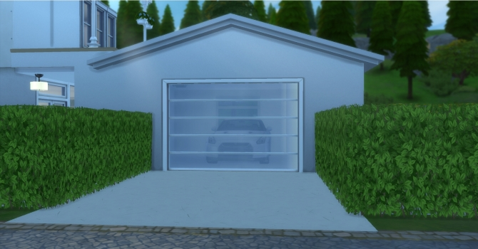 Garage Doors By Adonispluto At Mod The Sims 187 Sims 4 Updates