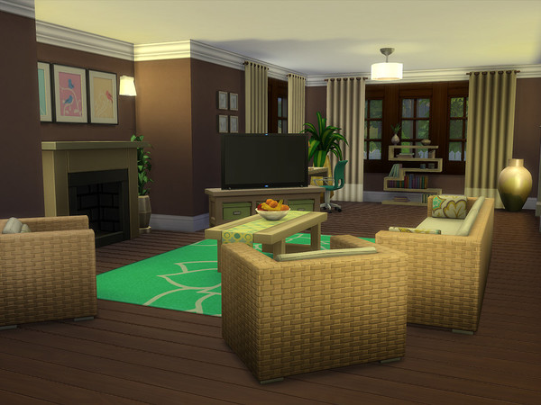 Sims 4 The Wilmington house by sharon337 at TSR