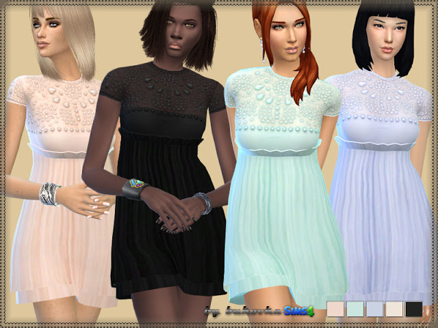 Josephine Dress at Bukovka image 764 Sims 4 Updates