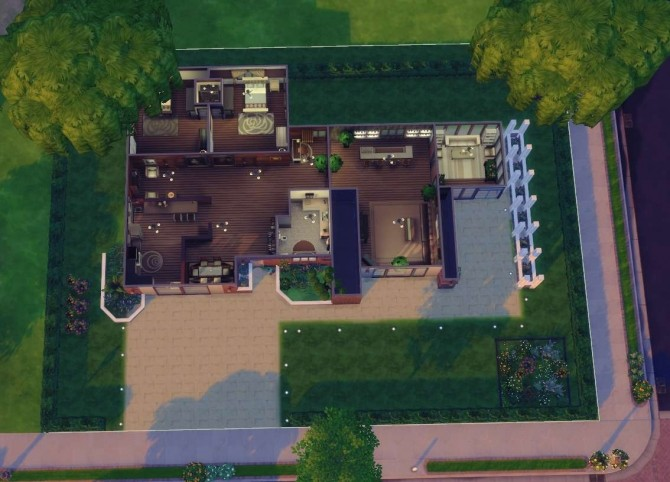 Blissful Modernity house by isabellajasper at Mod The Sims image 7710 670x482 Sims 4 Updates