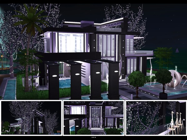Olive Modern house by mlpermalino at TSR image 776 Sims 4 Updates