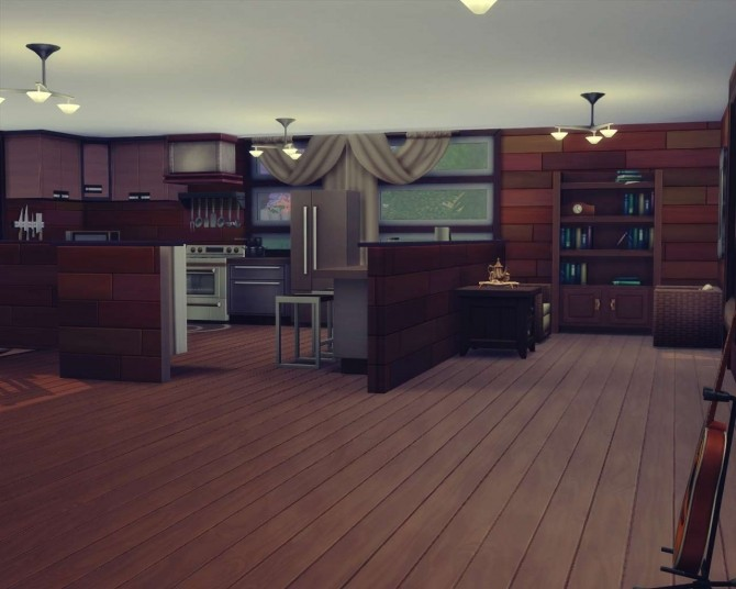 Blissful Modernity house by isabellajasper at Mod The Sims image 789 670x536 Sims 4 Updates