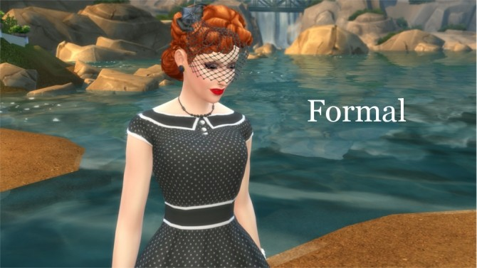 Sims 4 Lucille Ball by Snowhaze at Mod The Sims