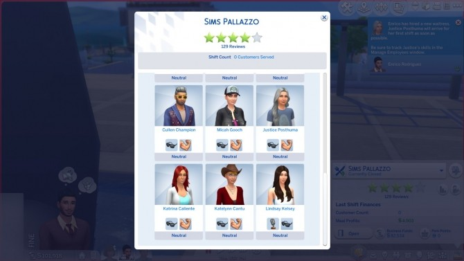 Additional Waiter 3, 4, and 5 (Up To 6 Waiters) by rbarkah at Mod The Sims image 8310 670x377 Sims 4 Updates