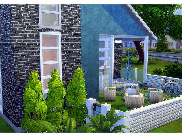 Sims 4 Trilium contemporary home by Degera at TSR