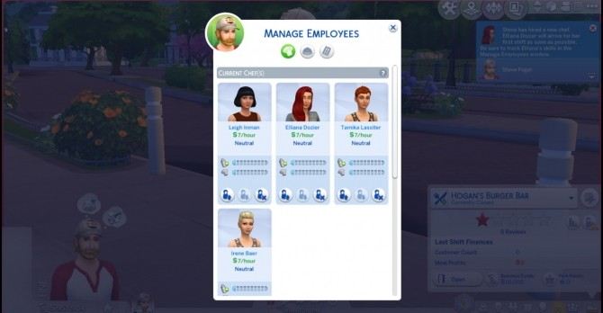Sims 4 Hire Additional Chef 4 by novalpangestik at Mod The Sims