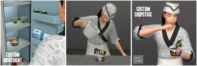 Sims 4 Cup Ramen by ohmysims at Mod The Sims
