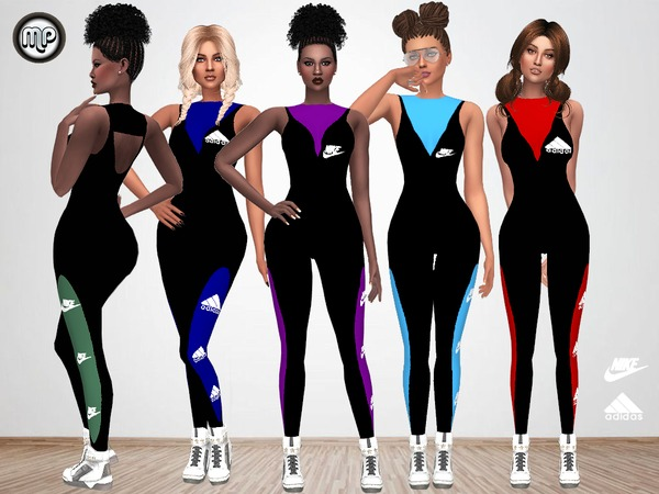 MP Sporty Jumpsuit at BTB Sims – MartyP image 8710 Sims 4 Updates