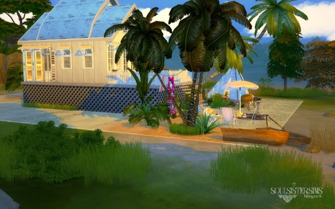 Sims 4 38 Summer Breeze house at SoulSisterSims