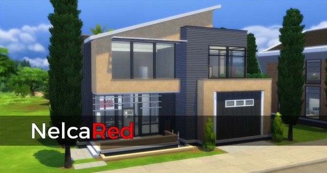 Gold Digger Basegame Modern House By Nelcared At Mod The