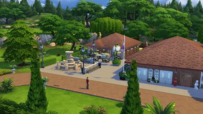 Sims 4 Sims 1 to 4 Landgraab Mall by Sortyero29 at Mod The Sims