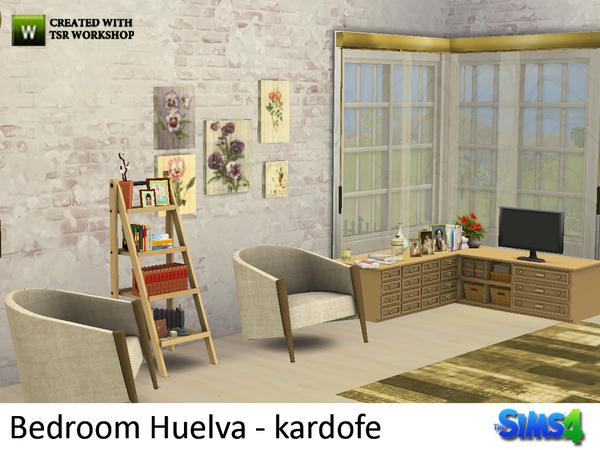 Bedroom Huelva by kardofe at TSR image 9 Sims 4 Updates