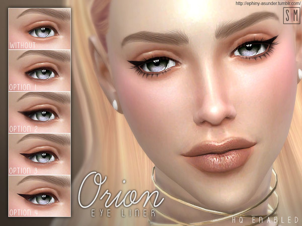 Sims 4 Orion Eye Liner by Screaming Mustard at TSR