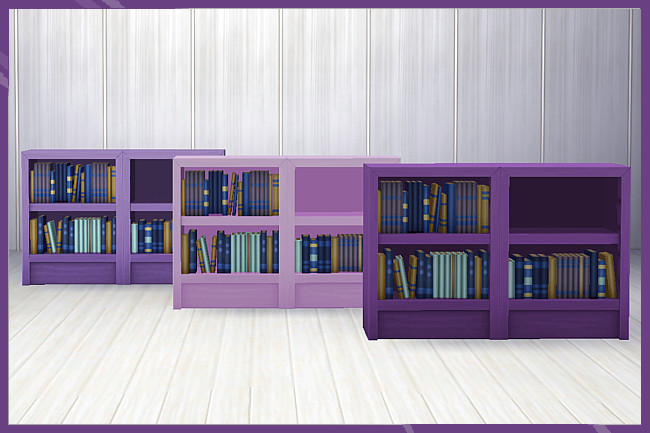 Sims 4 Recolors Mammuts shelf low 2 by weckermaus at Blacky's Sims Zoo