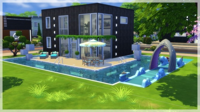 Sims 4 Nova house by Indra at SimsWorkshop