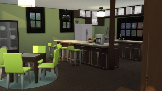 Sims 4 Anglo Fusion Abode 1 Bed, 1 Bath by TheSimKid at Mod The Sims