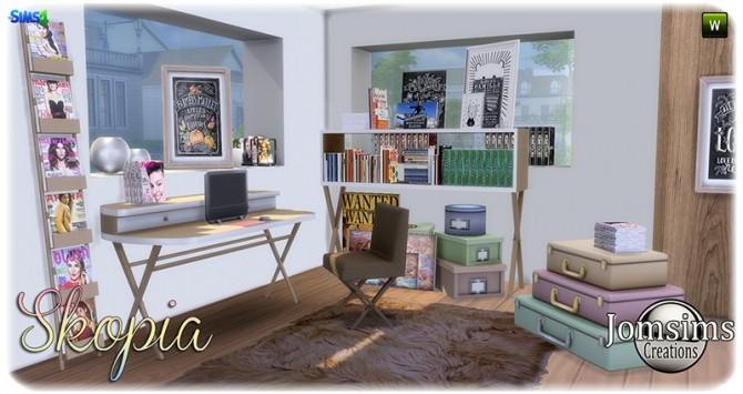 Skopia office at Jomsims Creations image 10113 670x355 Sims 4 Updates