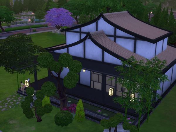 Japanese Restaurant 30x20 by hiyohiyo at TSR image 1025 Sims 4 Updates