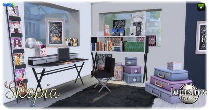 Skopia office at Jomsims Creations image 1028 670x355 Sims 4 Updates