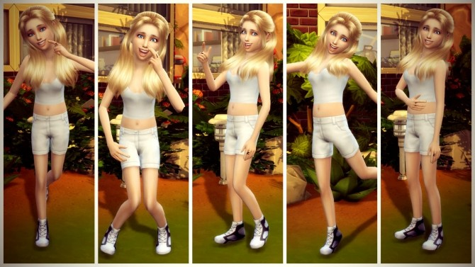 Happiness Pose Pack at RomerJon17 Productions image 1037 670x377 Sims 4 Updates