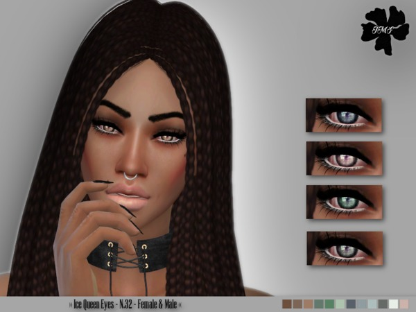 IMF Ice Queen Eyes N.32 F/M by IzzieMcFire at TSR image 104 Sims 4 Updates