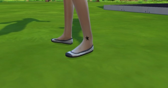 Foot Tattoo Pack of Three Star, Love Heart and Rose by Editlissi at Mod The Sims image 1051 670x353 Sims 4 Updates