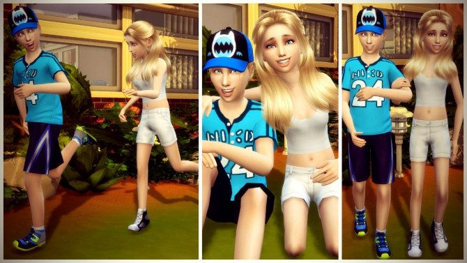 Happiness Pose Pack at RomerJon17 Productions image 10510 670x377 Sims 4 Updates