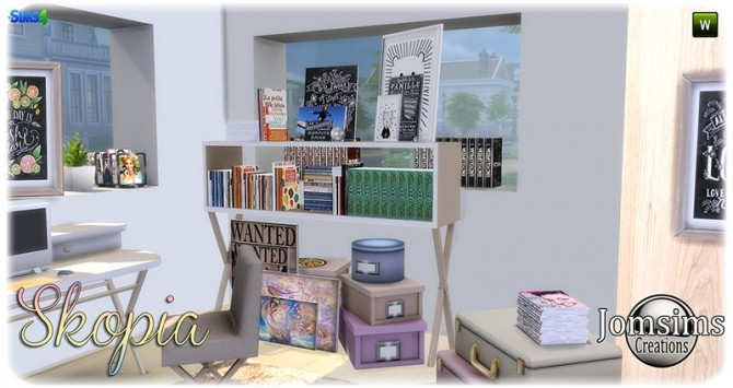 Skopia office at Jomsims Creations image 1057 670x355 Sims 4 Updates