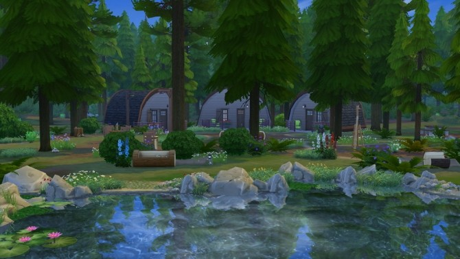 Forest Lake by fatalist at ihelensims image 1059 670x377 Sims 4 Updates
