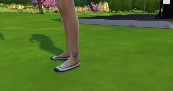 Foot Tattoo Pack of Three Star, Love Heart and Rose by Editlissi at Mod The Sims image 1061 670x353 Sims 4 Updates