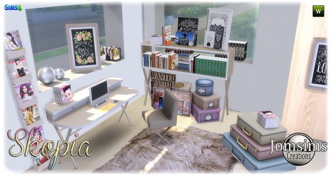 Skopia office at Jomsims Creations image 1077 670x355 Sims 4 Updates
