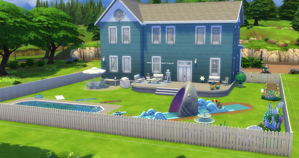 Sims 4 Summer fun house by thepinkpanther at Beauty Sims