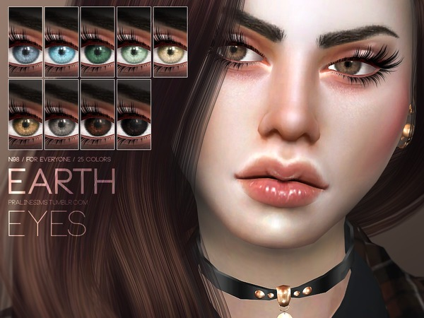 Earth Eyes N98 by Pralinesims at TSR image 112 Sims 4 Updates
