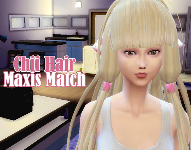 Chii from Chobits Hair Maxis Match by Wiccan at Mod The Sims image 1151 Sims 4 Updates