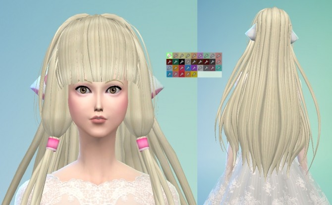 Chii from Chobits Hair Maxis Match by Wiccan at Mod The Sims image 1161 670x414 Sims 4 Updates