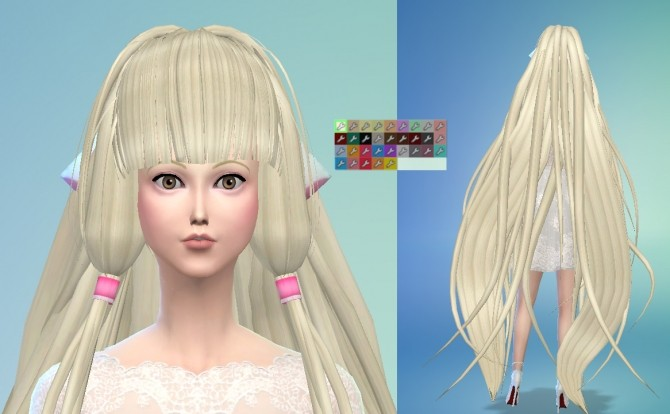Chii from Chobits Hair Maxis Match by Wiccan at Mod The Sims image 1171 670x414 Sims 4 Updates