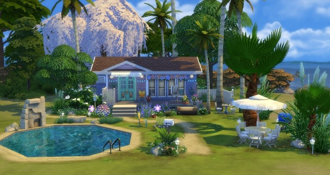 Modjo house at Studio Sims Creation image 1173 670x355 Sims 4 Updates